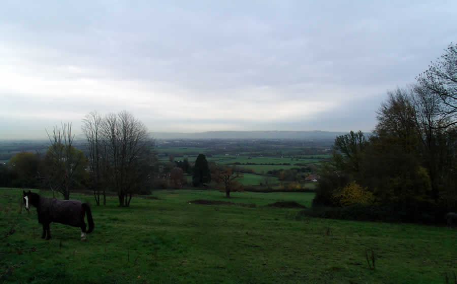 View East Of Churchdown Hill