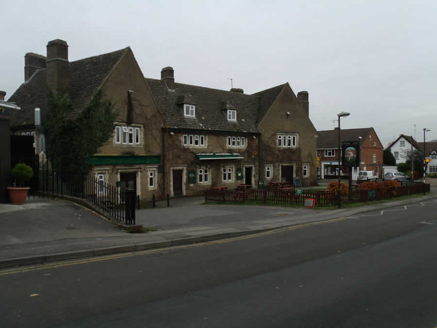 Bat & Ball Pub Churchdown Village