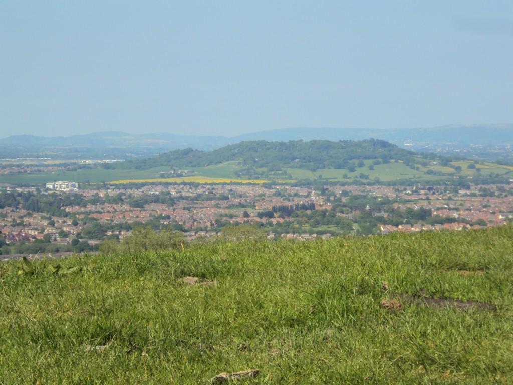 Churchdown Hill From Top