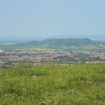 Churchdown Hill From Top