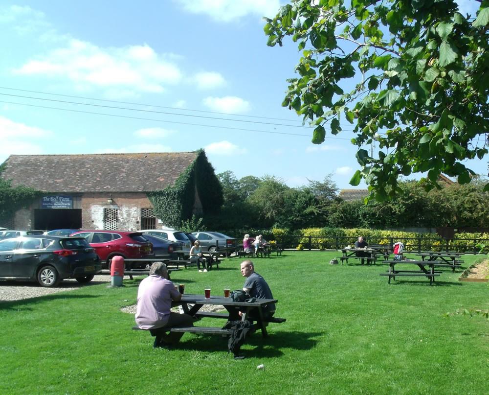 The Bell Inn Beer Garden