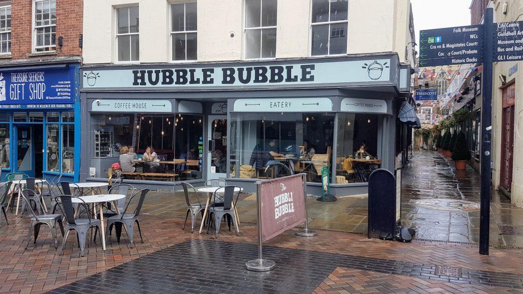 Hubble Bubble a dog-friendly cafe
