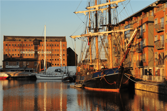 Tall Ship Festival In Gloucester Docks