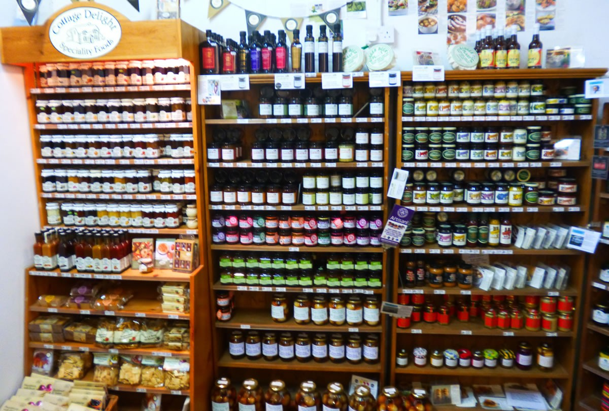 Condiments and sauces at Over Farm Market