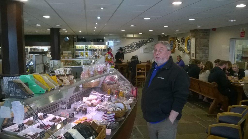Severn & Wye Smokery Restaurant & Chocolate counter