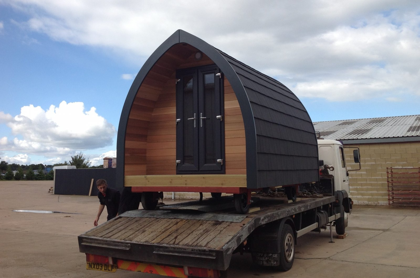 Glamping Pod Manufacturer In Gloucestershire