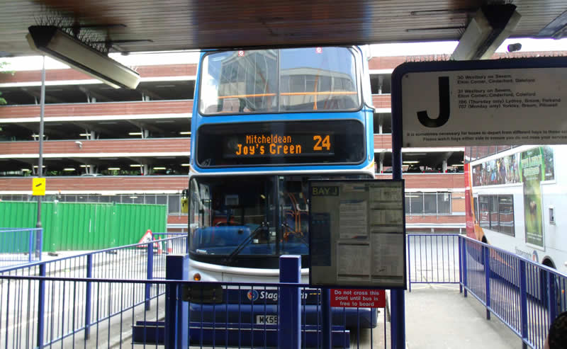 Bus From Gloucester To Forest Of Dean