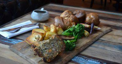 nut roast at WoodKraft in Cheltenham