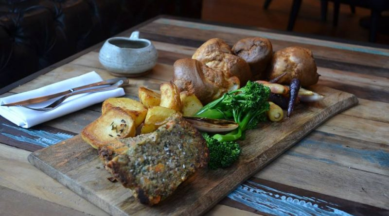 nut roast at WoodKraft in Cheltenham