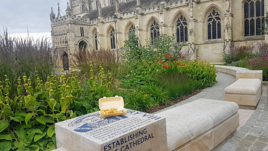 Chippy Lunch at the Cathedral