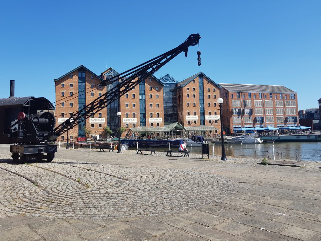 Gloucester Docks Waterfront