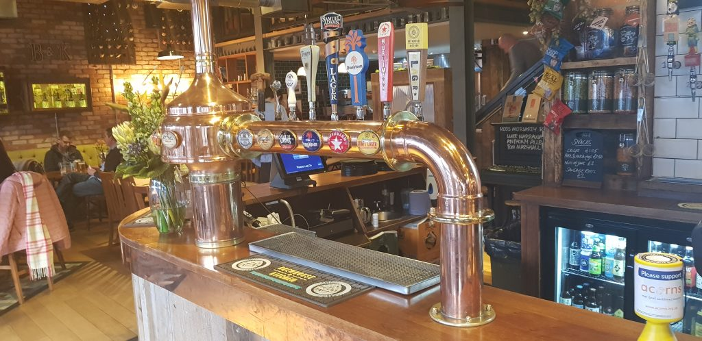 Draught Lager Pumps