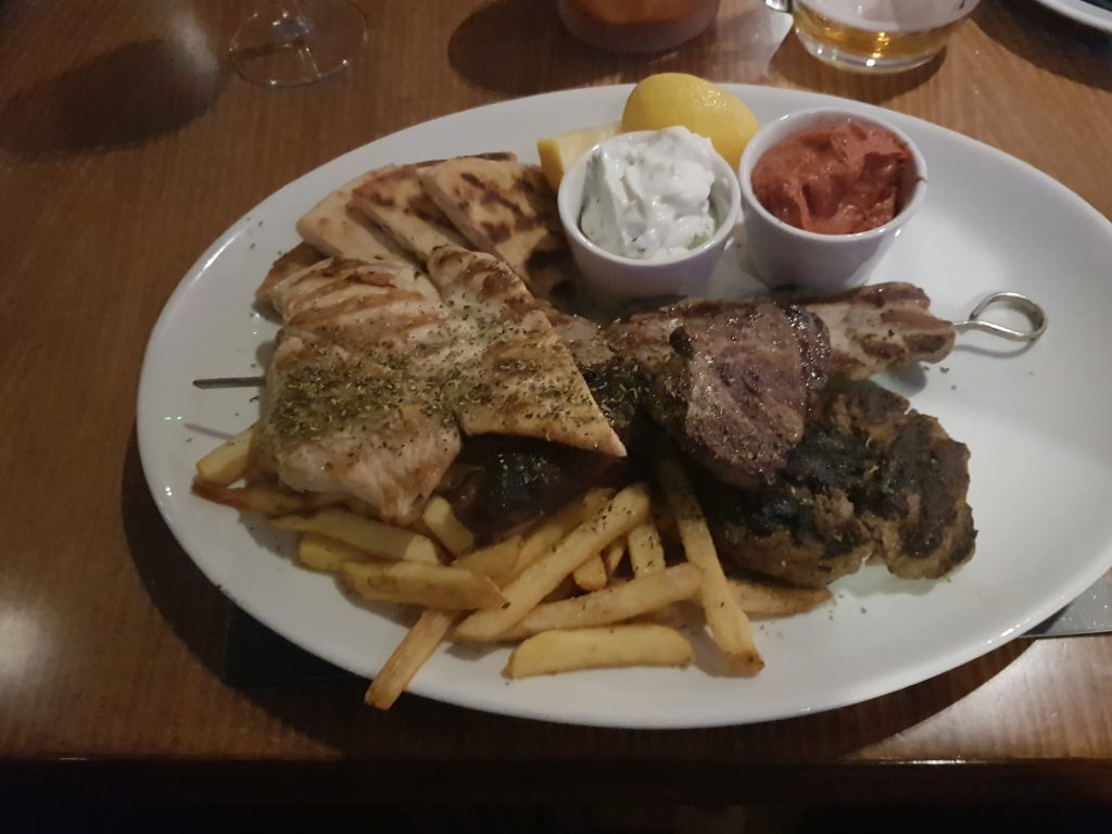 Greek Mixed Grill