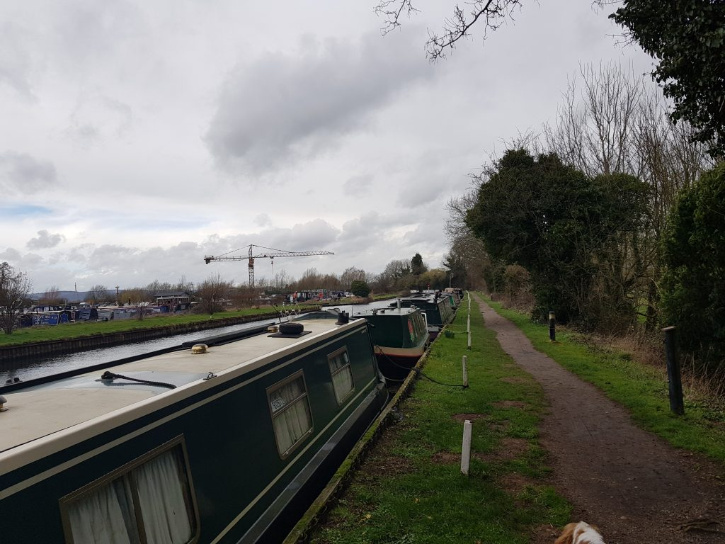 Narrowboats on Stroudwater Navigation