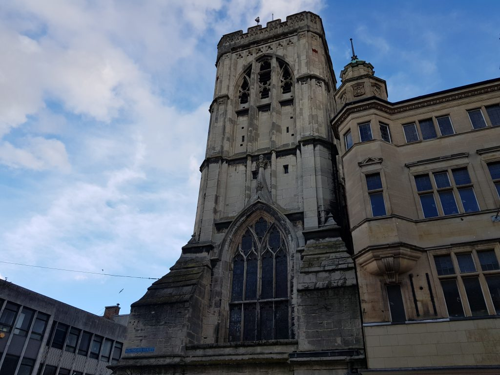 St Michaels Tower in Gloucester