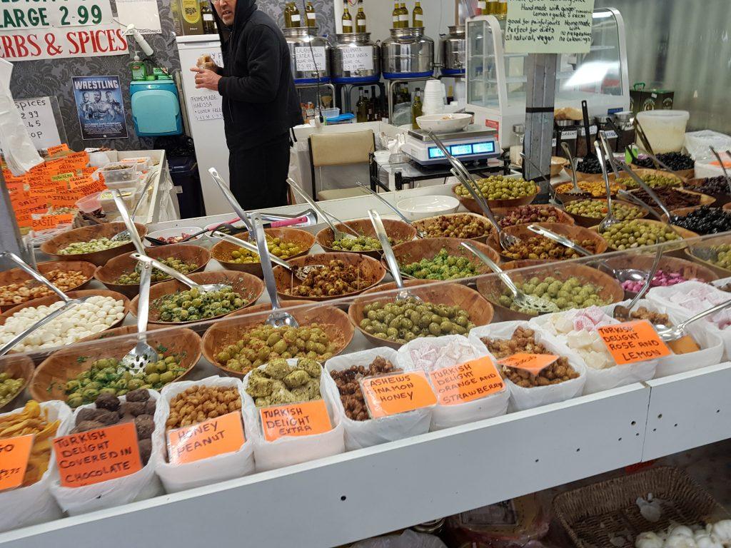 Greek food store