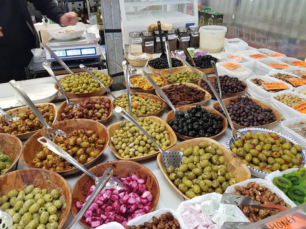 Greek food store in Gloucestershire