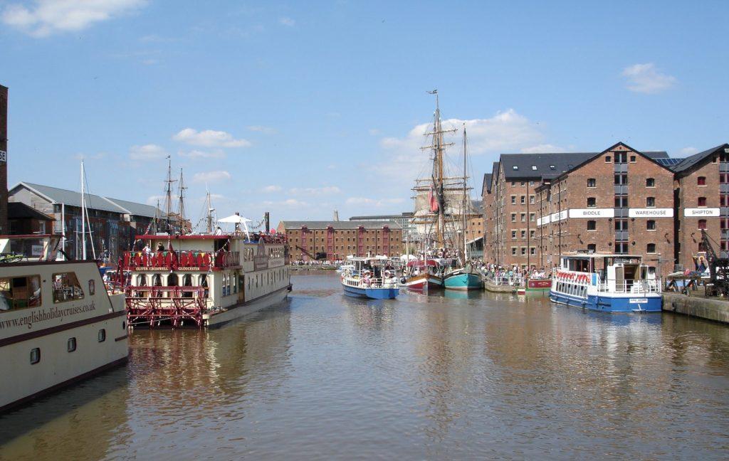the Tall Ships Festival Gloucester