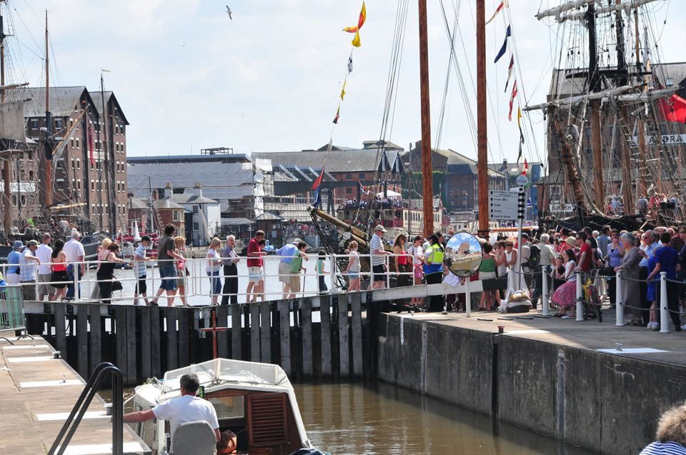 Gloucester Lock at Tall Ships Festival