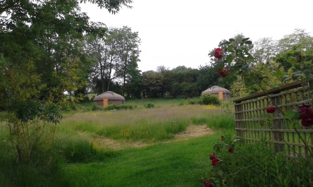 Glampsite in the Cotswolds
