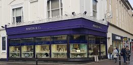 Martin & Co Jewellers in Cheltenham