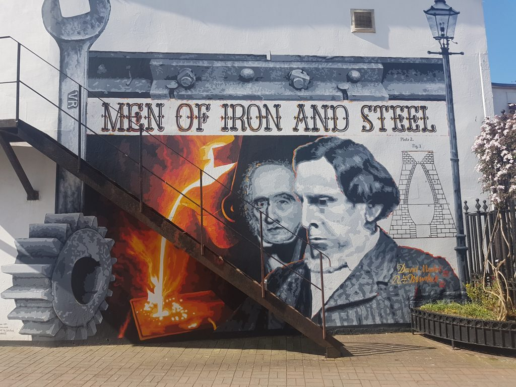 Men of Iron and Steel Mural Coleford