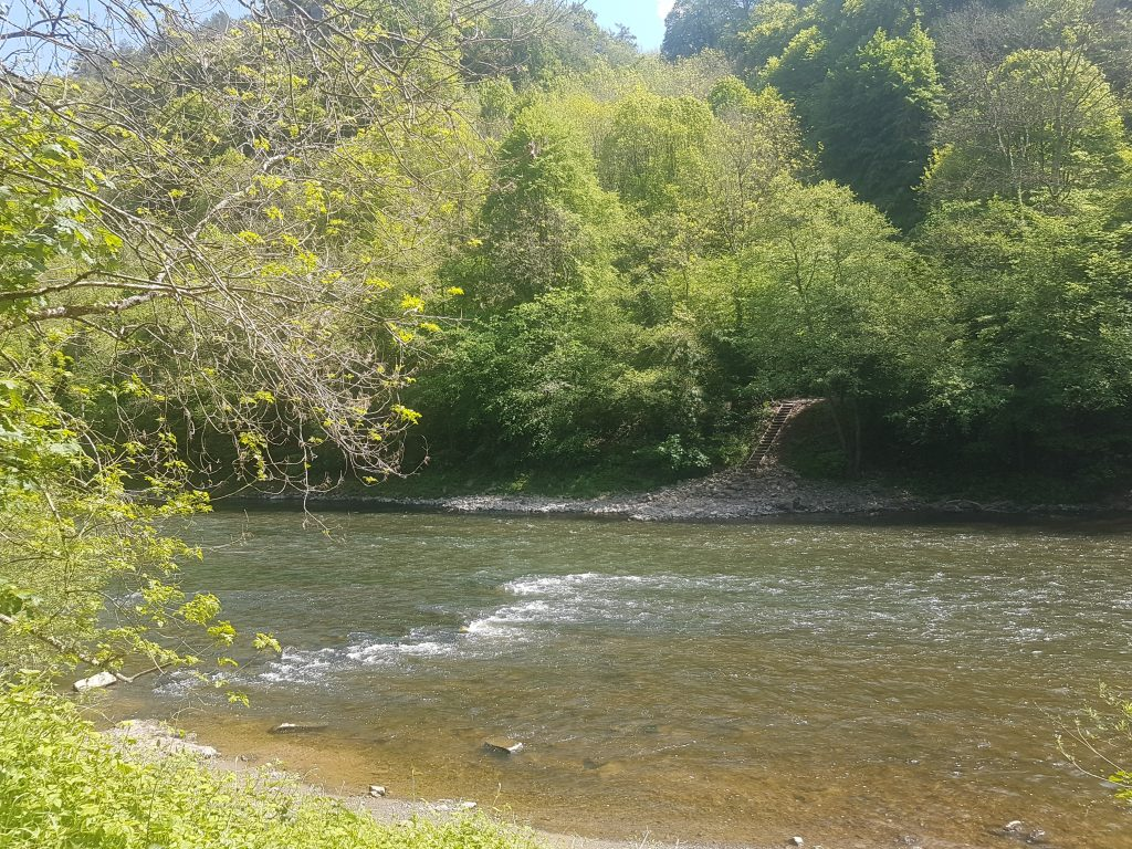 White water on the River Wye