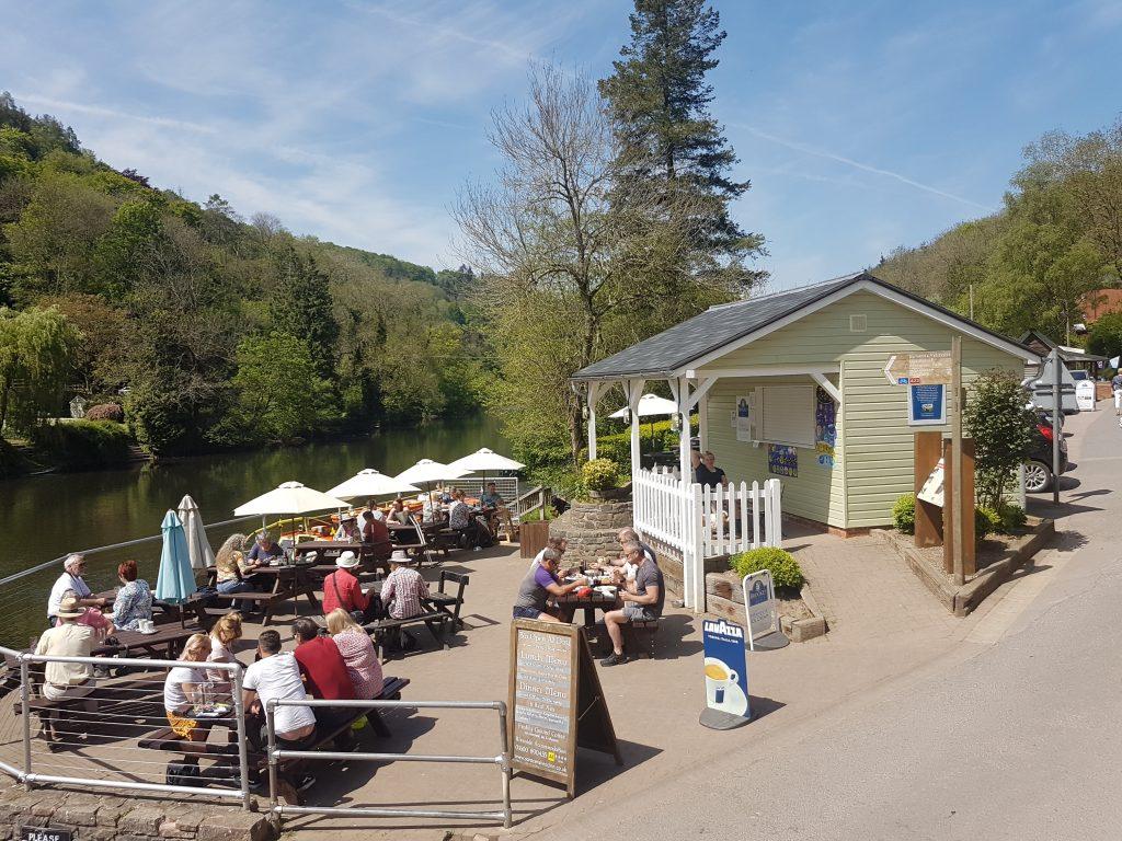 Saracen's Head Pub in The Wye Valley