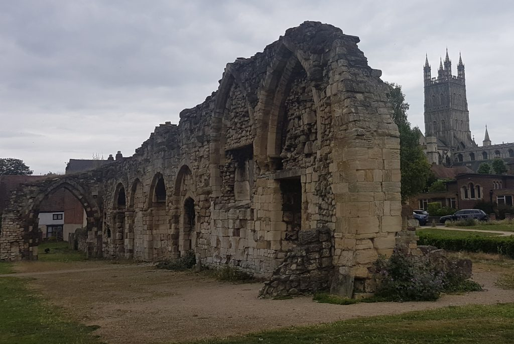 St Oswald's Priory Ruins Gloucester