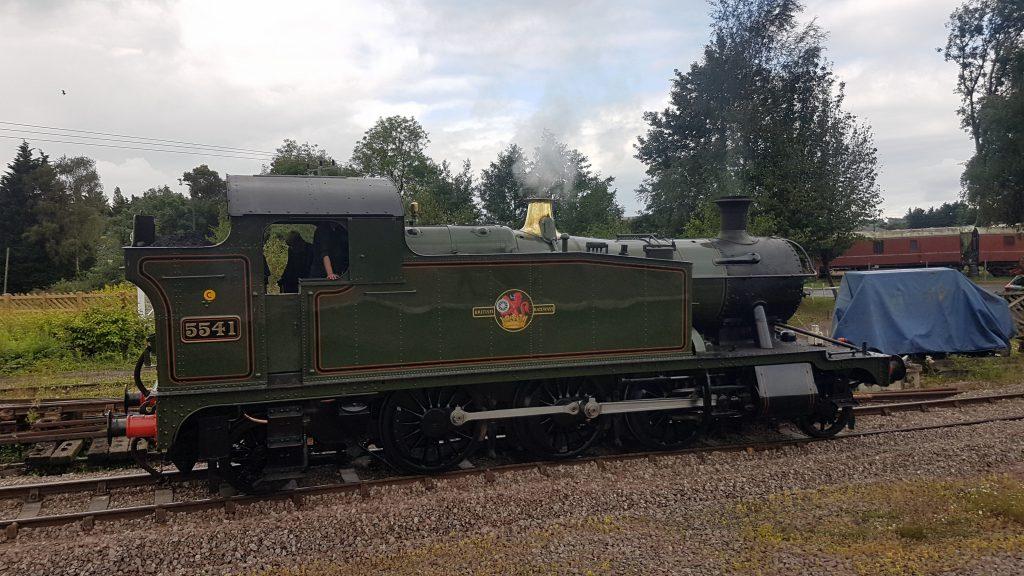 5541 steam engine