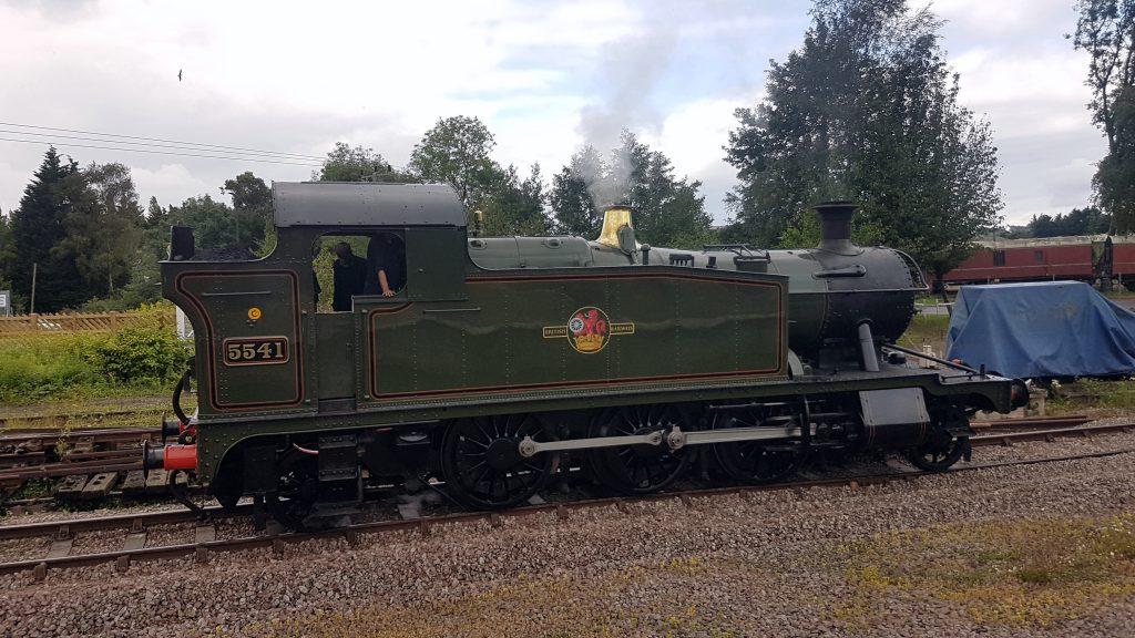 Railway Attraction - 5541 Steam Train