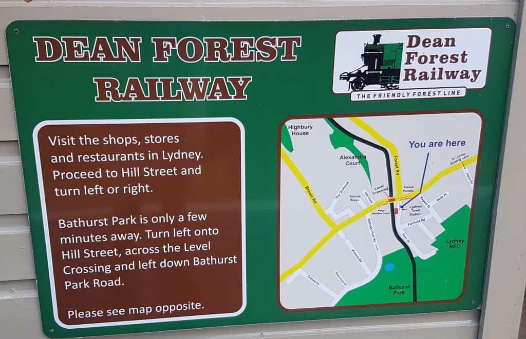 Dean Forest Railway Map