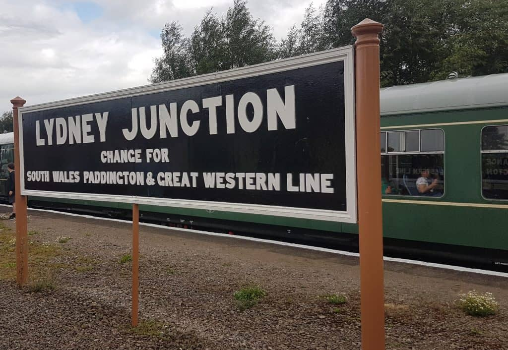 Lydney Junction Platform
