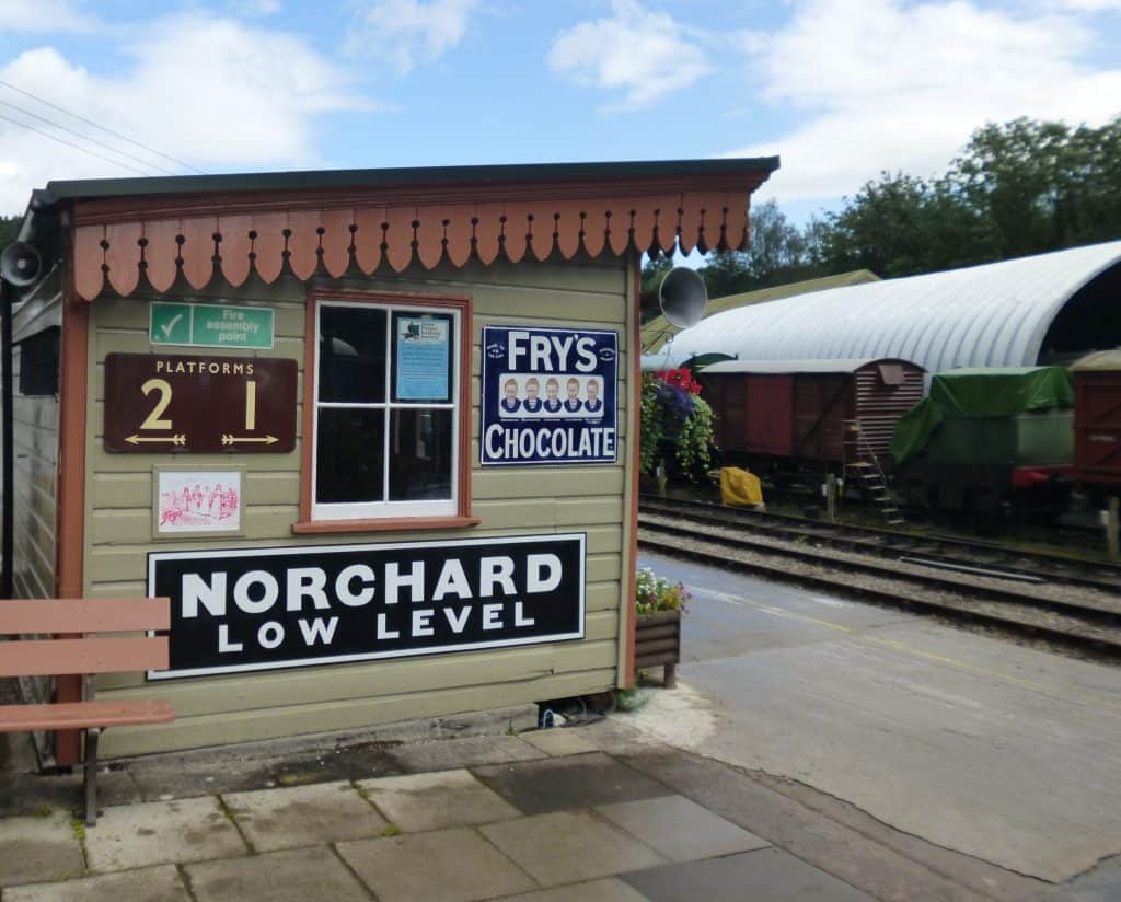 Norchard railway station