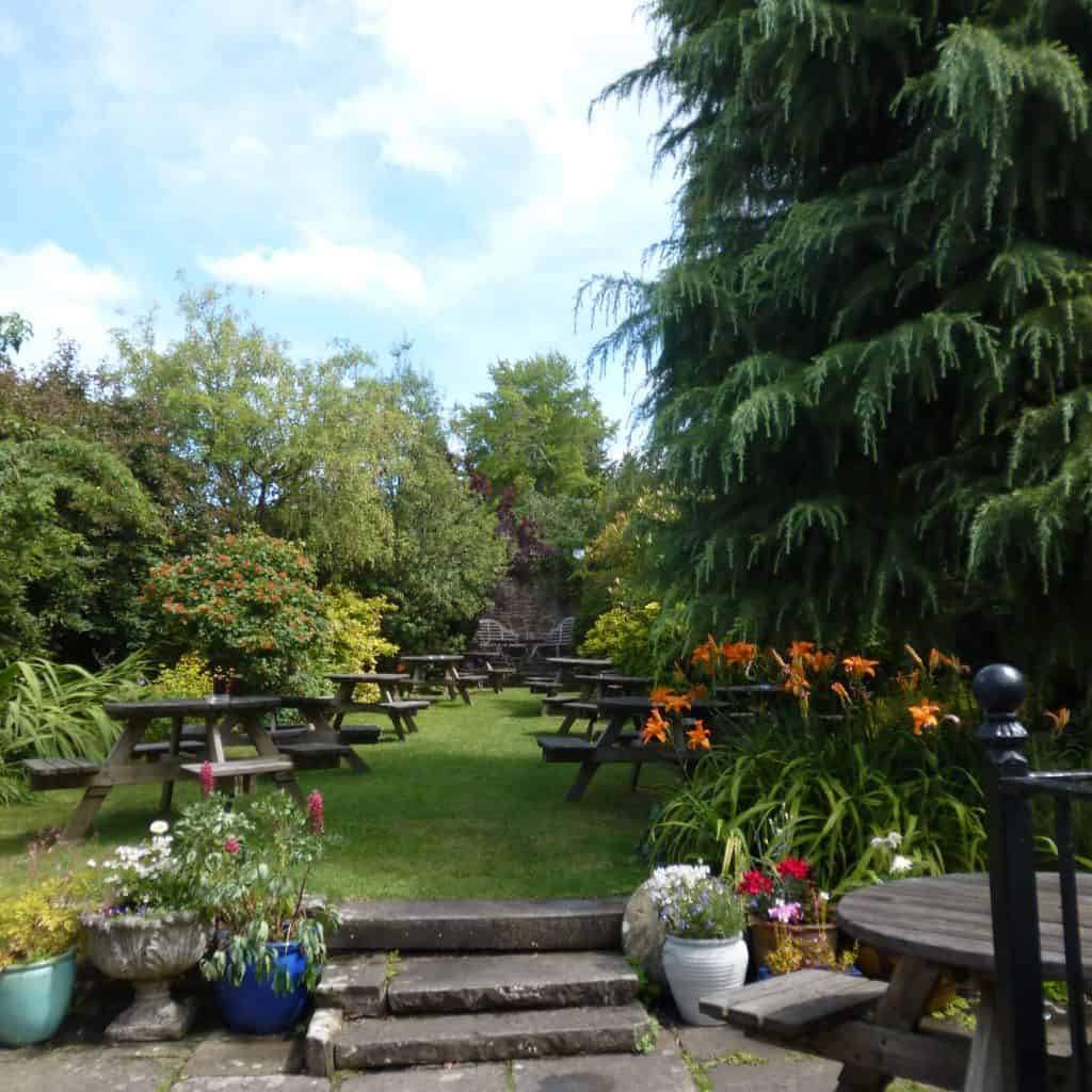 Ostrich Beer Garden - Forest of Dean Pubs
