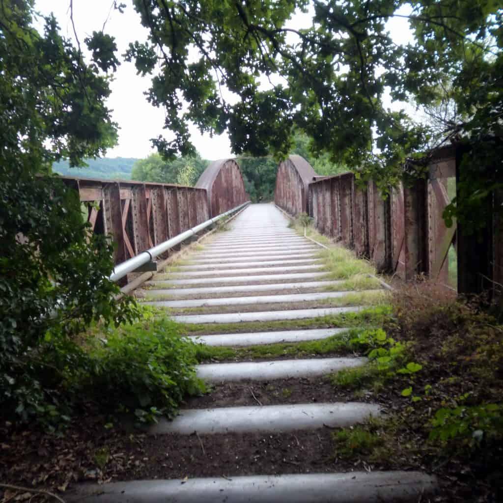 Path Across Monmouth Viaduct
