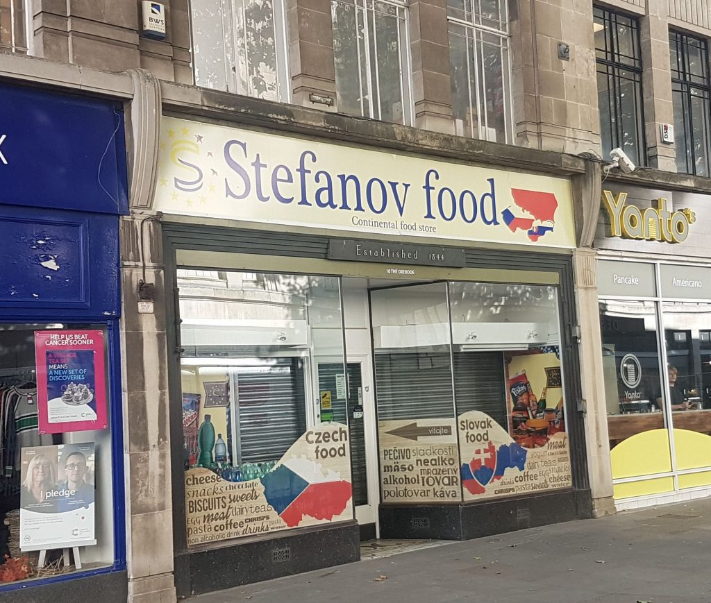 Czech & East European Food Shops