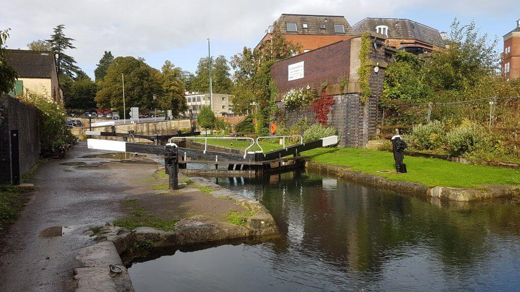 Canal Lock in Stroud