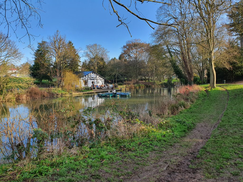 Pittville Park Boathouse