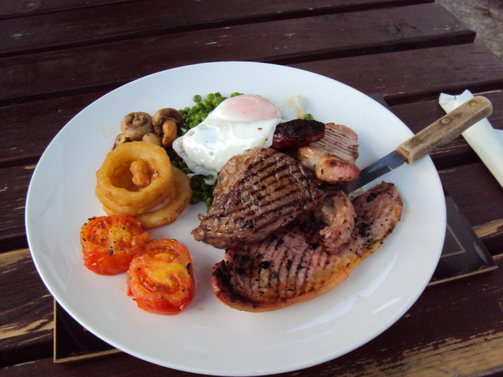 Mixed Grill Meal Out