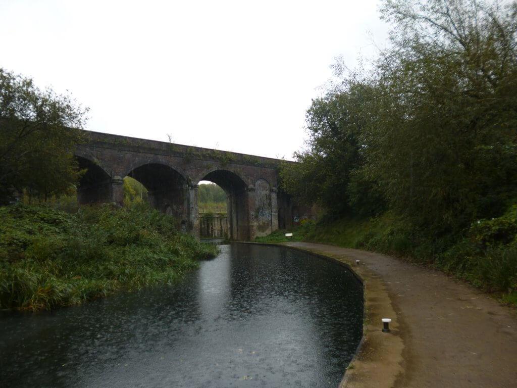 Railway viaduct over Dr Newton's Way