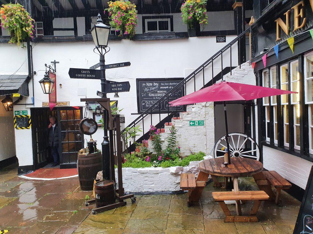 The New Inn Gloucester - Haunted Hotels