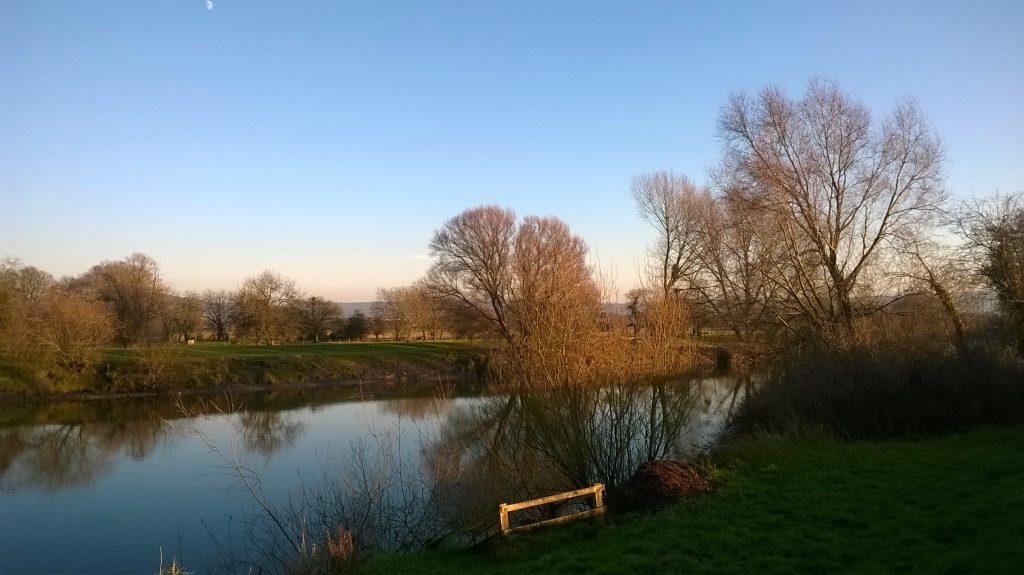 River Severn at Elmore Back
