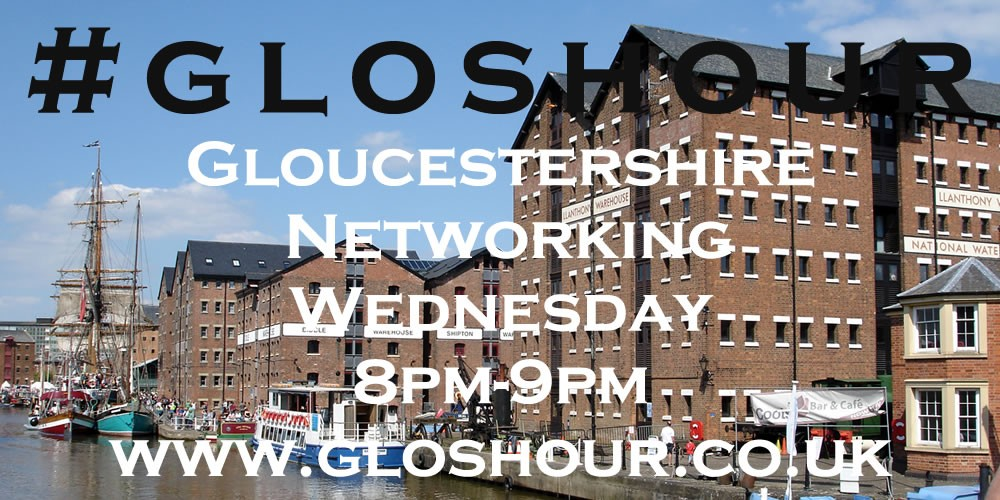 #gloshour Docks advert