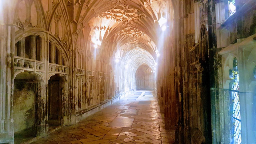 Cloisters Gloucester Cathedral