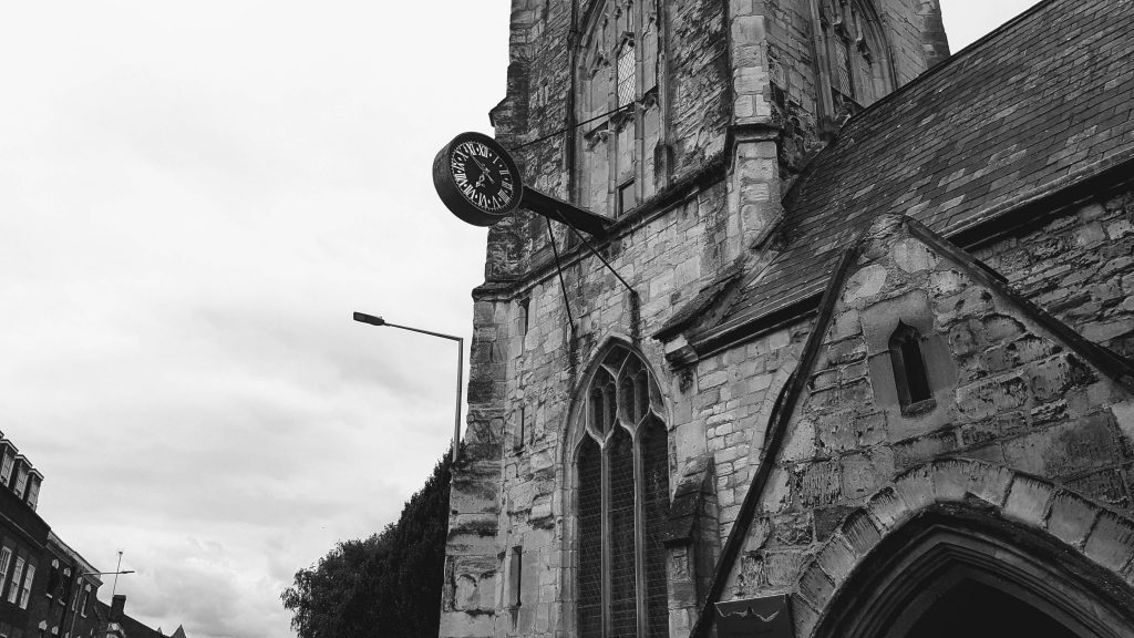 St Nicholas Church Gloucester Clock