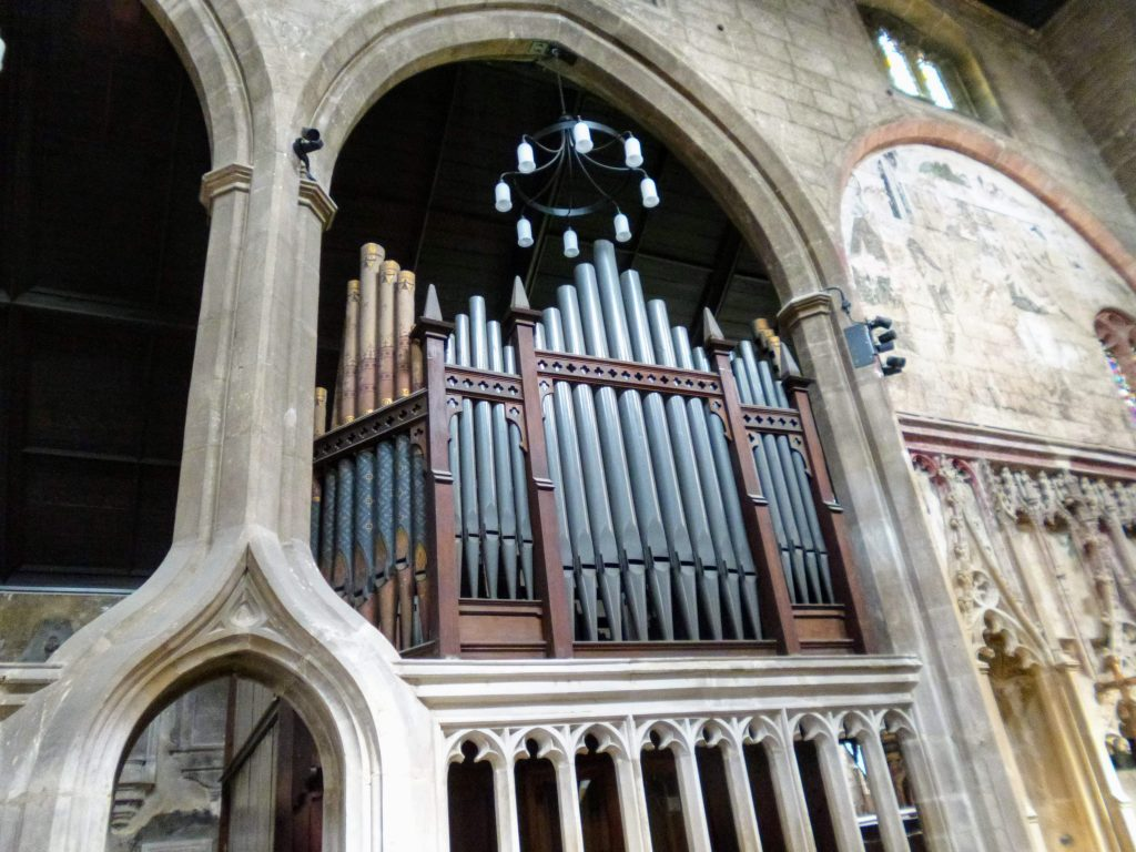 Organ St Mary De Crypt