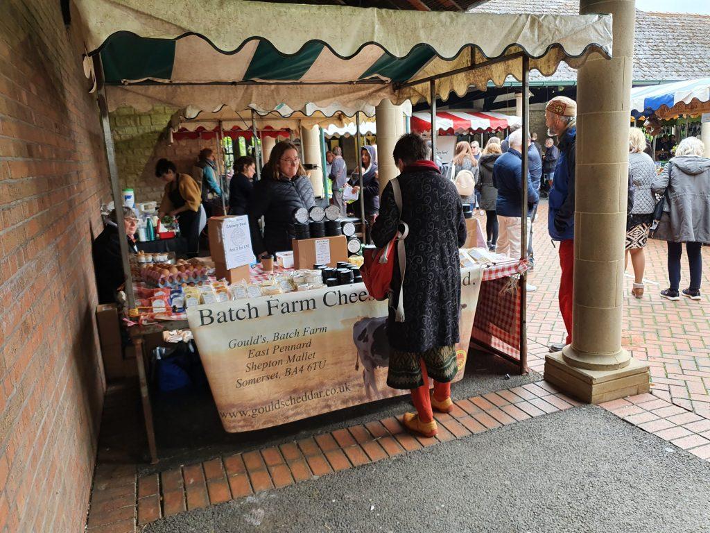 Batch Farm cheese Stall