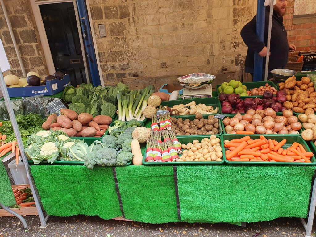 Greengrocers at Stroud Farmers' Market