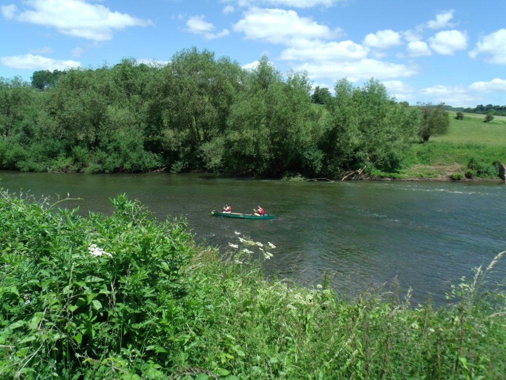 Kayaking in the Wye Valley